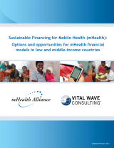 sustainable financing for mobile health